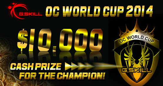 G.SKILL OC World Cup 2014