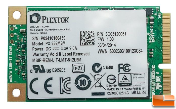 Уменьшая размеры Обзор Plextor M6M mSATA SSD 128 ГБ