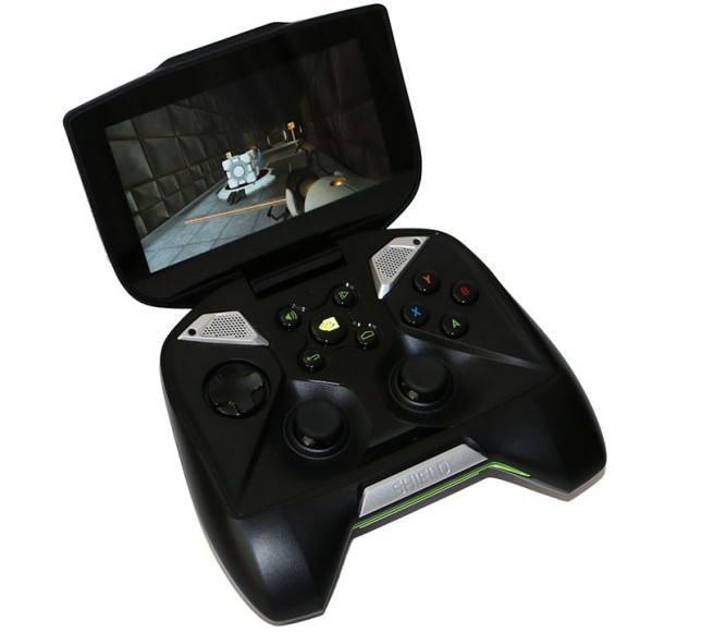 Portal on the NVIDIA SHIELD
