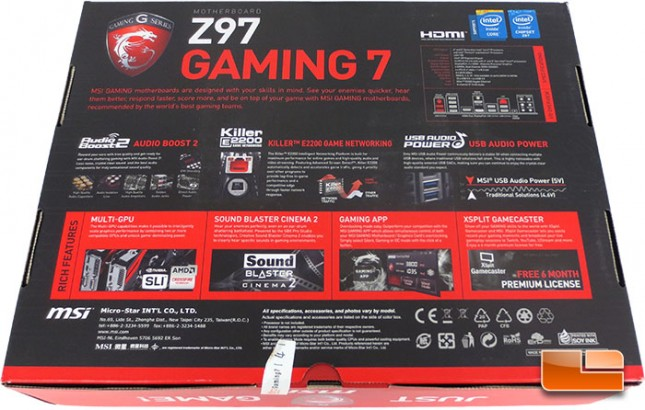 ... - Page 4 of 19 - Legit ReviewsMSI Z97 Gaming 7 Intel Z97 Motherboard