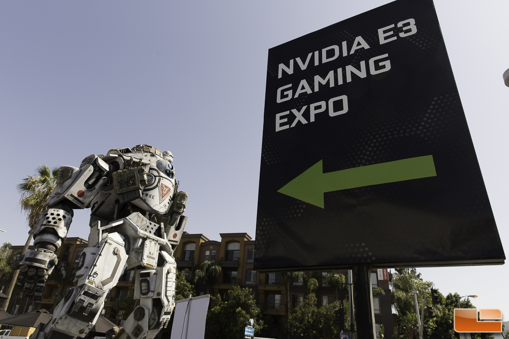 NVIDA Takes E3 2014 To A New Level - NVIDIA Gaming Expo