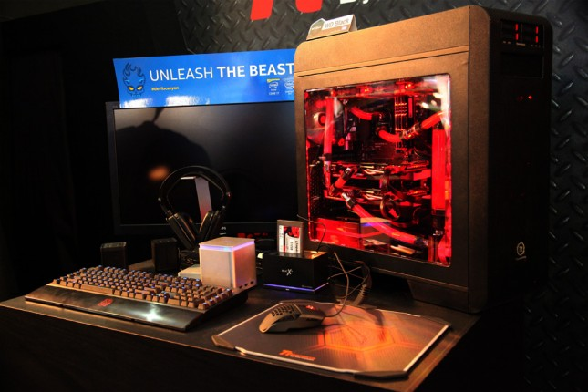 One thermaltake gaming solution series announced at