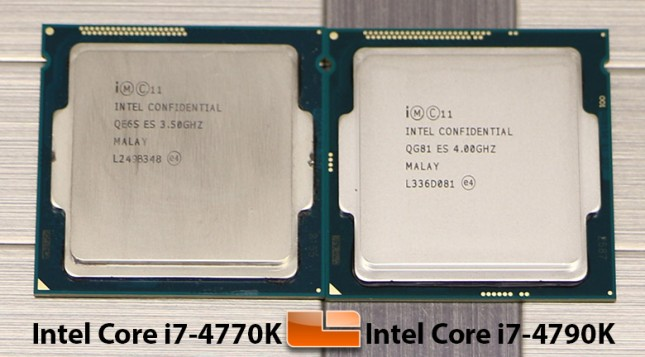Intel Core i7-4970K and Core i7-4770K