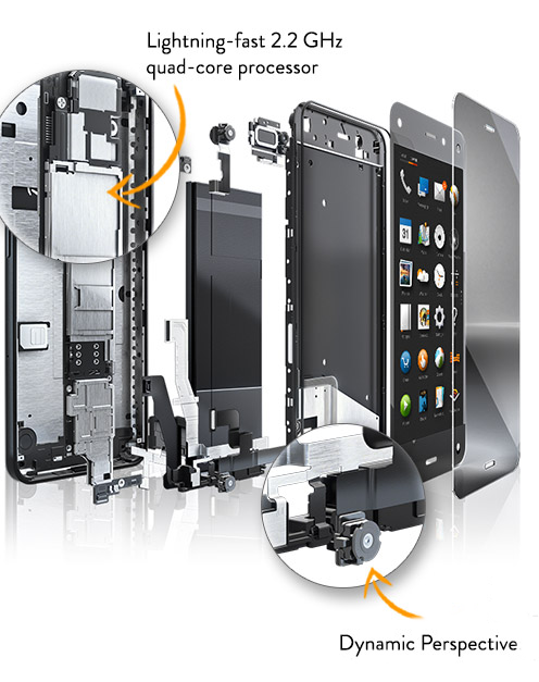 Fire Phone Hardware