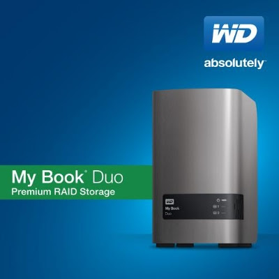WD Announces My Book Duo – Starts at $279 for 4TB