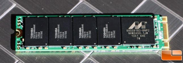 Plextor M6e M.2 PCIe SSD