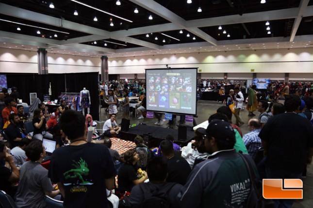 Anime Expo 2014 Entertainment Hall