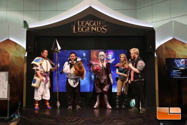 Anime Expo 2014 Riot Games Booth