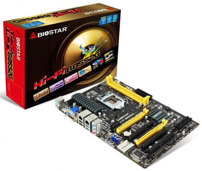 Biostar Hi-Fi B85S2G Motherboard