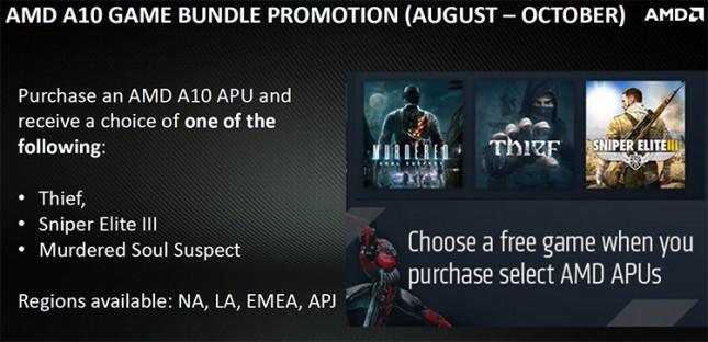AMD APU Game Bundle