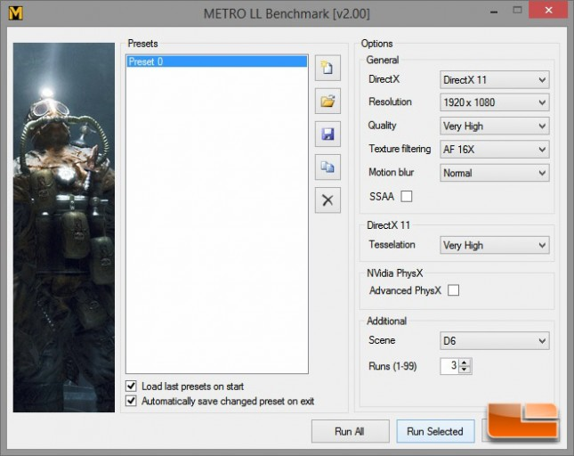 Digital Storm Bolt 2 Metro LL Settings