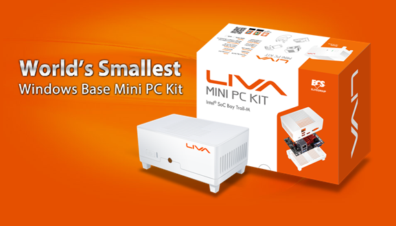 Elitegroup Introduces LIVA Mini White Edition