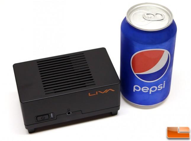 ECS LIVA with Pepsi