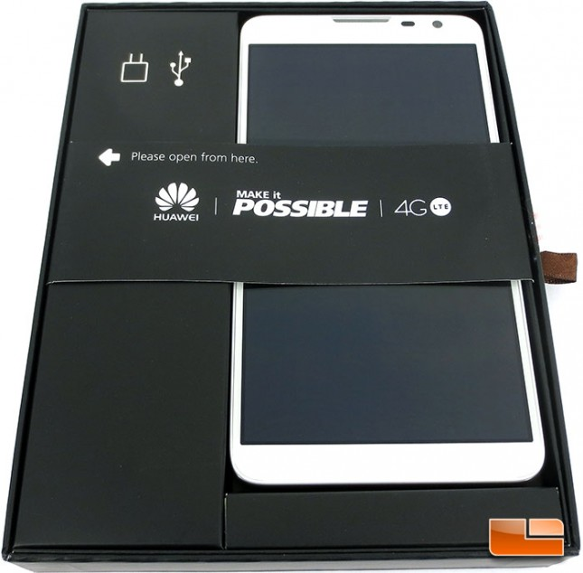 HUAWEI Ascend Mate2 Retail Packaging