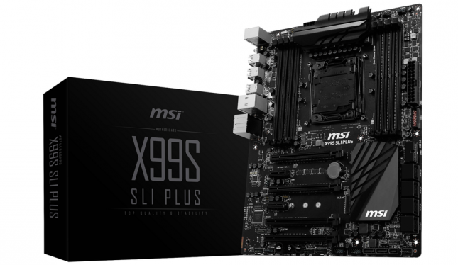 MSI X99S SLI PLUS Motherboard