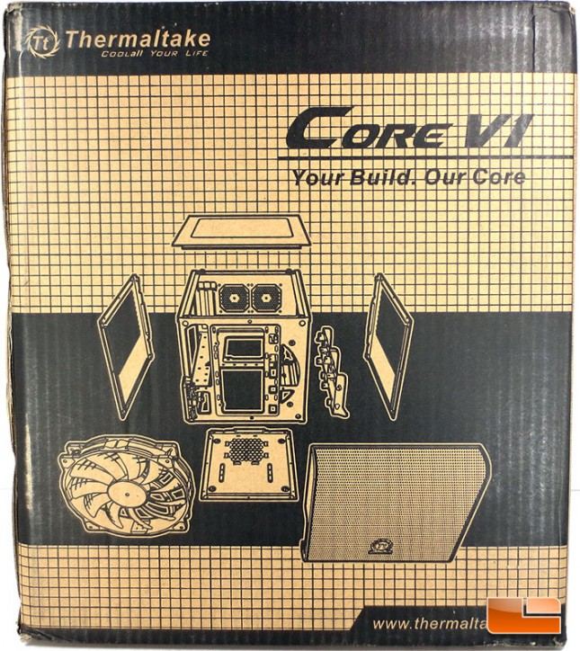 Thermaltake Core V1 mini-ITX Chassis Packaging