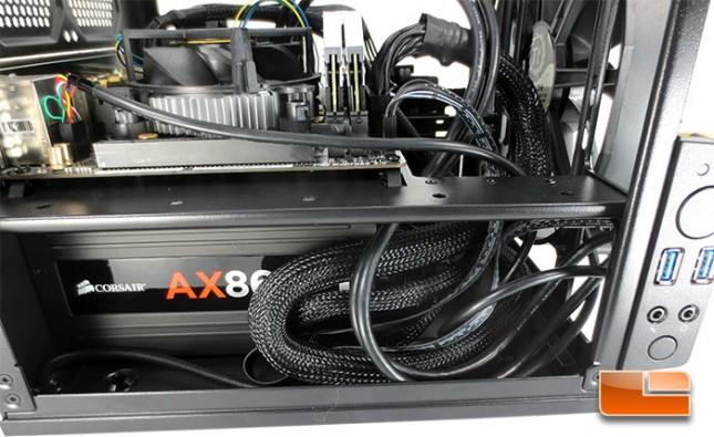 Thermaltake Core V1  Mini-ITX Chassis System Build