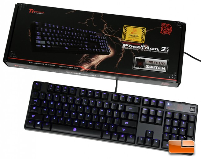 Tt eSPORTS POSEIDON Z Illuminated Mechanical Gaming Keyboard