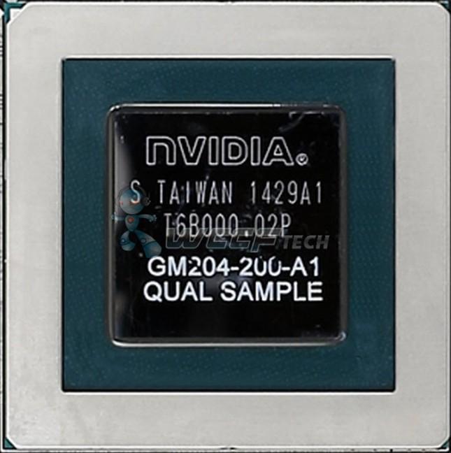 NVIDIA Maxwell GM204 Die Photo Leaked