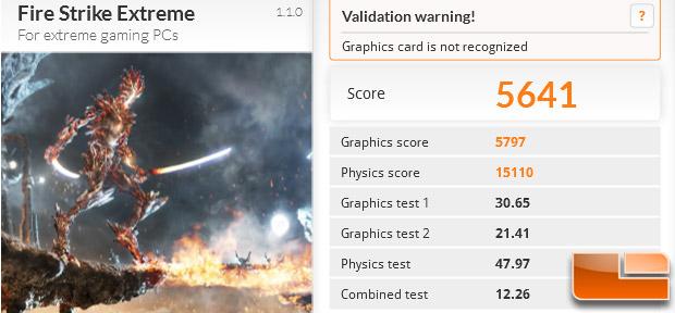 GTX 980 3DMark FireStrike X