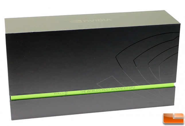 NVIDIA GeForce GTX 980 Reference Design Packaging