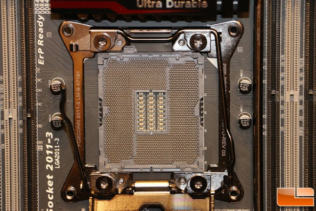 Gigabyte X99 Normal Motherboard Socket