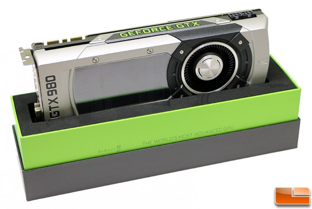 NVIDIA GeForce GTX 980 Reference Design Video Card
