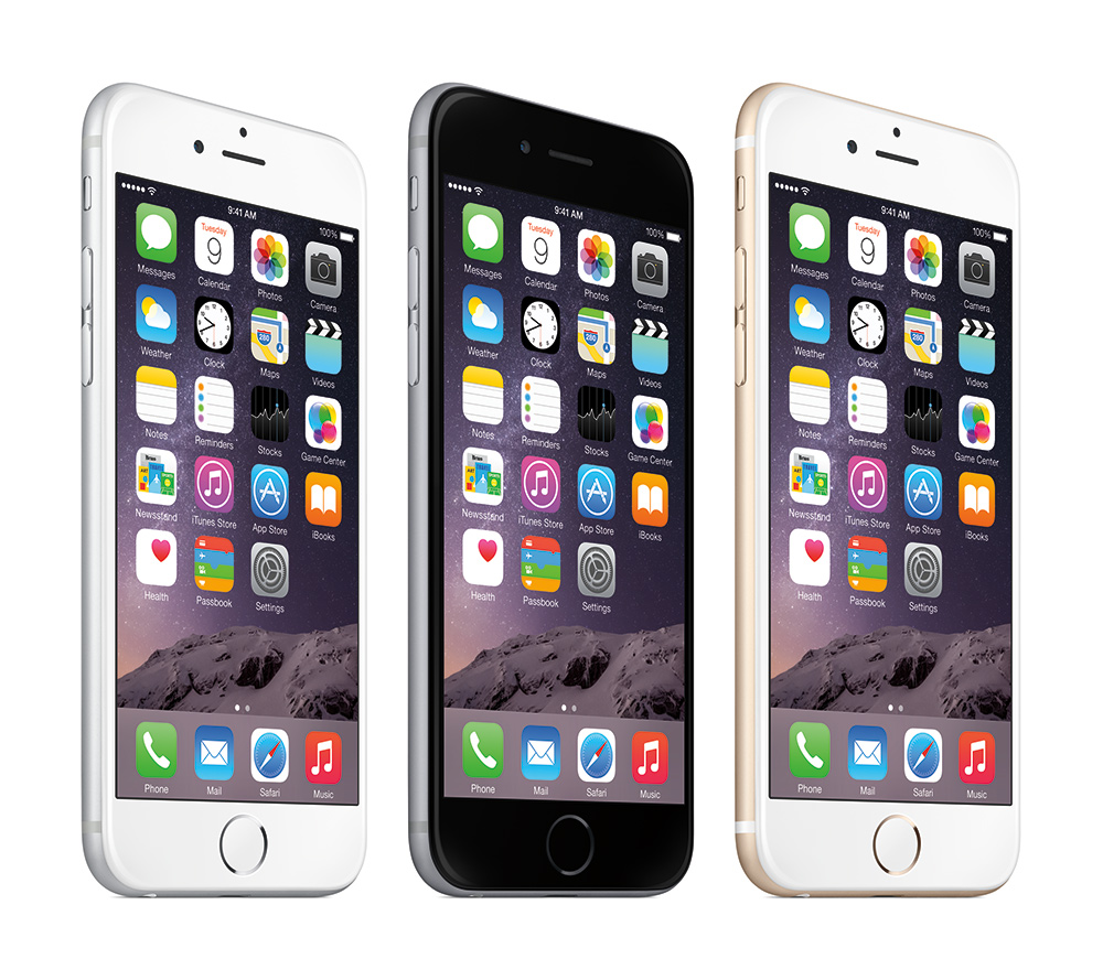 apple debuts next gen iphone 6 and iphone 6 plus. Black Bedroom Furniture Sets. Home Design Ideas