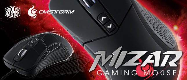 Cooler Master CM Storm Mizar Gaming Mouse