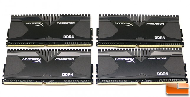 Kingston HyperX DDR4 Memory