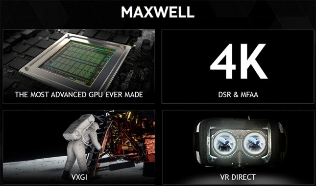 NVIDIA Maxwell Key Features