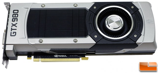 NVIDIA GeForce GTX 980 4GB Video Card