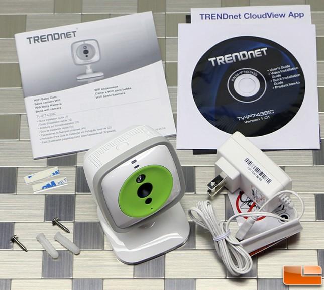 TRENDnet WiFi Baby Cam Acccessory Bundle