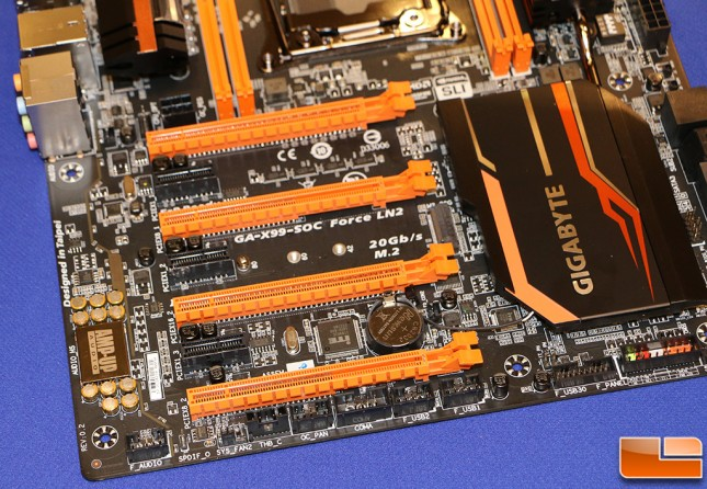 Gigabyte GA-X99-SOC Force LN2 Motherboard