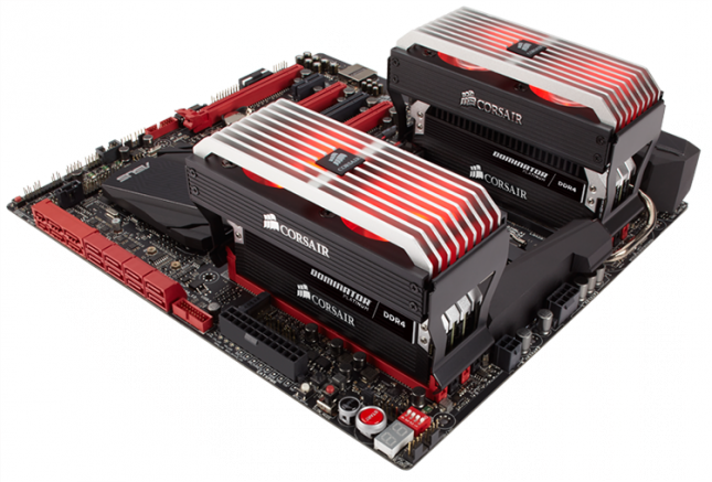 Corsair Dominator Platinum DDR4 modules