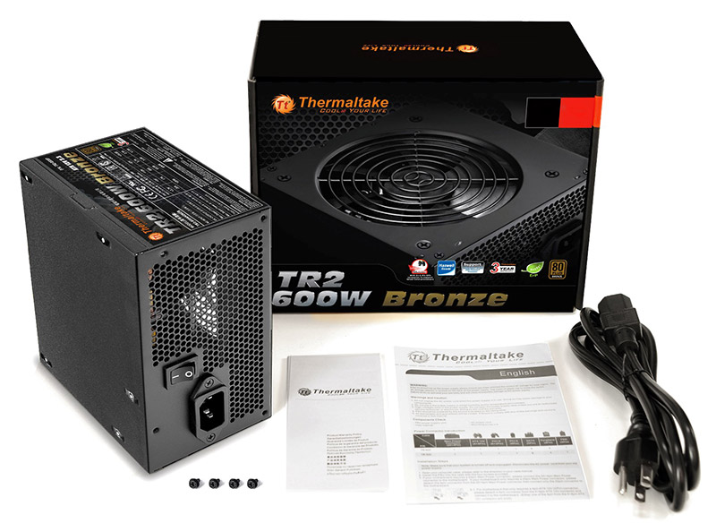 Thermaltake Tr2 Bronze Series Power Supples Released