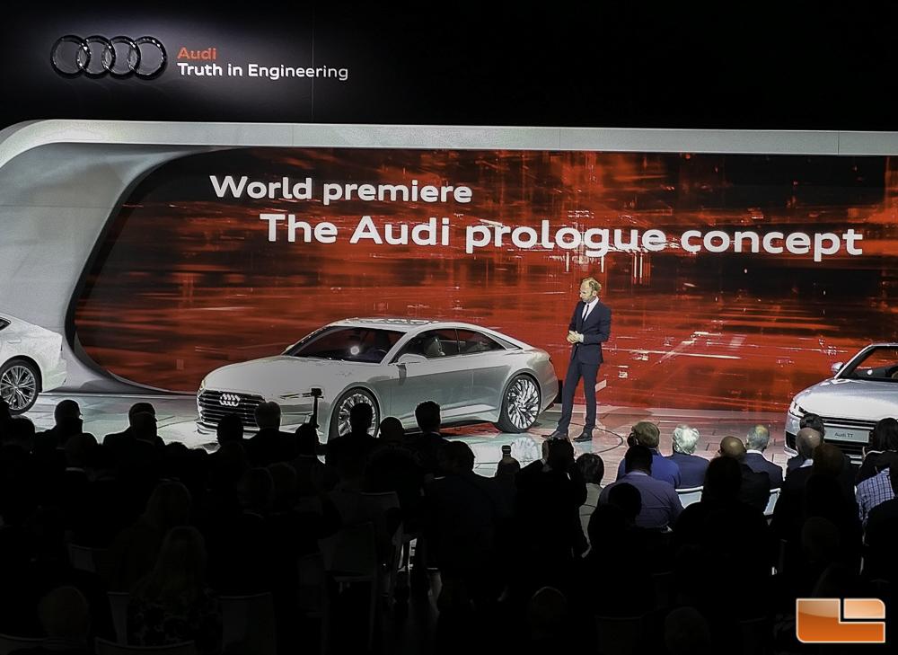 Audi Presents Prologue Show Car in Los Angeles