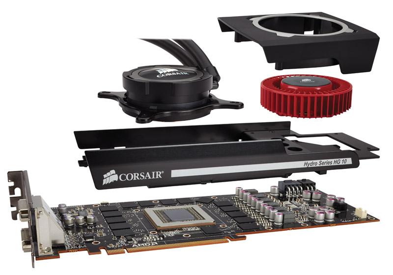 Corsair Hydro Series HG10 GPU Liquid Cooling Bracket Released - Legit Reviews