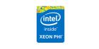 Intel Xeon Phi logo badge