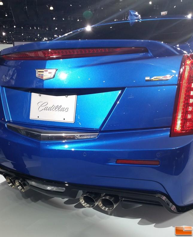 14 Cadillac Ats: Cadillac ATS-V Unveiled In Los Angeles