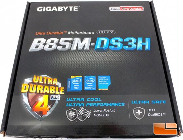 GIGABYTE B85M-DS3H mATX LGA1150 Motherboard