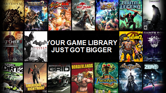 Nvidia Grid Game Titles