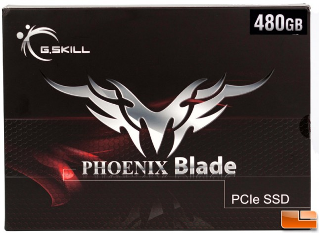 G.SKILL Phoenix Blade 480GB PCIe Box