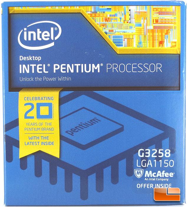Intel Pentium G3258 Dual Core Processor