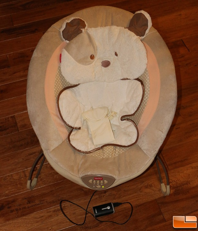 USB Powered Baby Bouncer