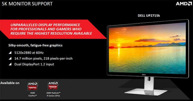 AMD 5K Display Support