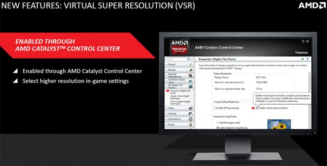 Visual Super Resolution Enable