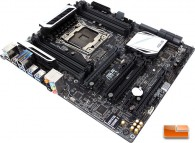 ASUS X99A Intel X99 Motherboard Layout