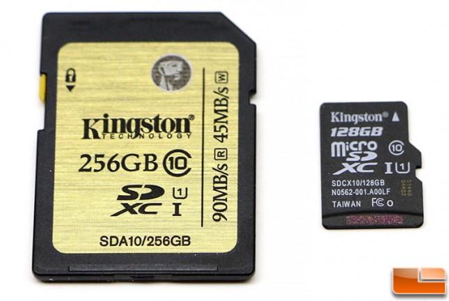 Kingston Digital Class 10 sda10/256gb