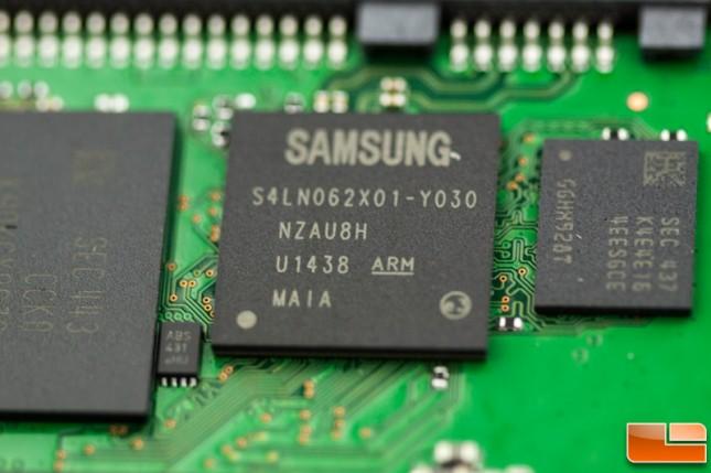 Samsung 850 EVO Controller